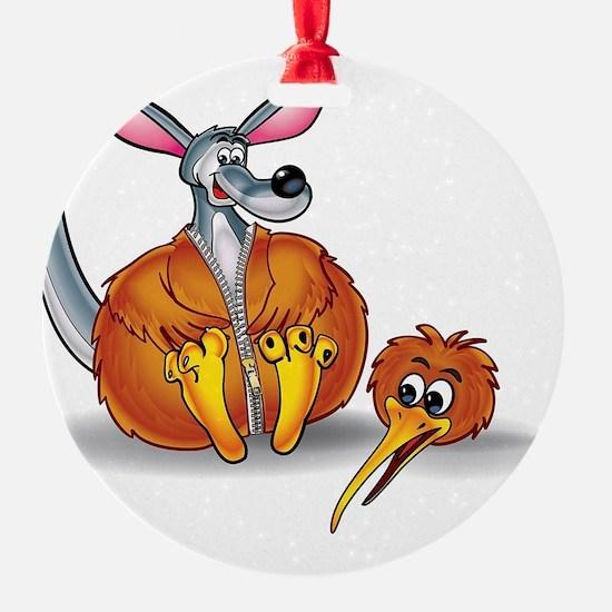 Kiwi Wannabe Ornament