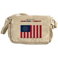 I support Allied state of American Messenger Bag