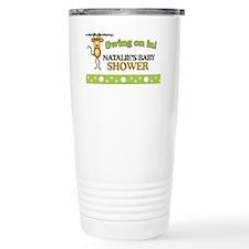 Natalies Baby Shower Sign Travel Mug