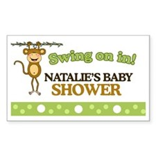 Natalies Baby Shower Sign Decal