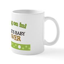 Natalies Baby Shower Sign Mug