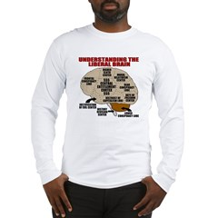 Liberal Brain Long Sleeve T-Shirt