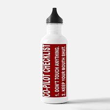 CoPilotJournal Water Bottle