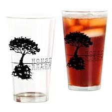 House Below Logo Drinking Glass