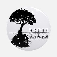 House Below Logo Round Ornament
