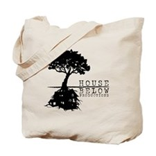 House Below Logo Tote Bag
