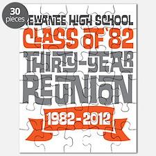 Kewanee High School - 30th Class Reunion -  Puzzle
