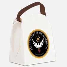 Allied States of America Canvas Lunch Bag