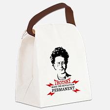 Leon Trotsky: Permanent Revolutio Canvas Lunch Bag