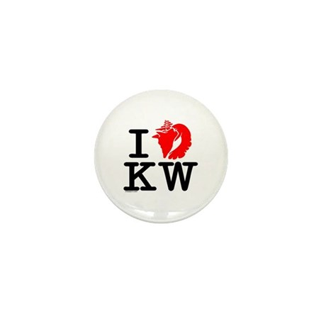 I Love Key West! Mini Button