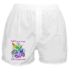 Pride Parrot Boxer Shorts