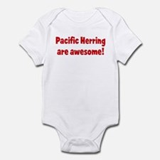 Pacific Herring are awesome Infant Bodysuit