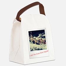 Ocoee River Rapids Canvas Lunch Bag