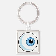 Eye_0379 Square Keychain