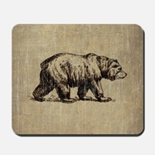 Vintage Bear Mousepad