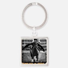 Baby Flo Square Keychain