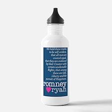 Romney Ryan LOVE Water Bottle