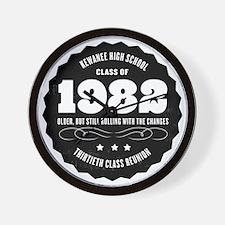 Kewanee High School - 30th Class Reunio Wall Clock