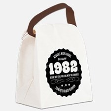 Kewanee High School - 30th Class  Canvas Lunch Bag