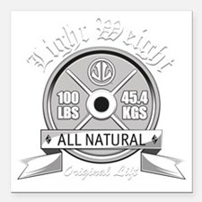 """LIGHT WEIGHT Square Car Magnet 3"""" x 3"""""""