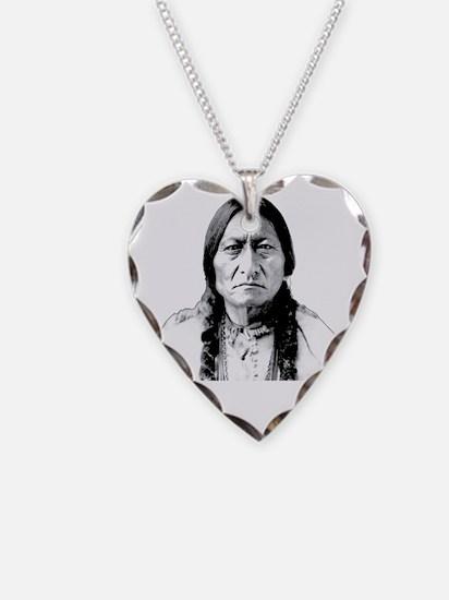 Chief Sitting Bull Says Shut  Necklace