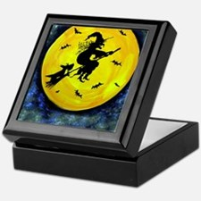 Scottie Moon  Halloween Witch Keepsake Box