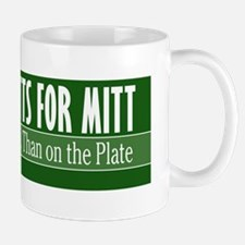 Mutts for Mitt Green Mug