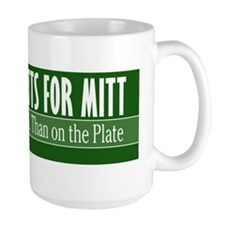 Mutts for Mitt Green Mug