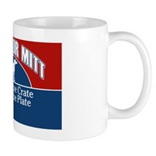 Mutts for Mitt Red Mug