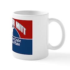 Mutts for Mitt Red Small Mug