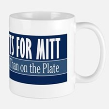 Mutts for Mitt Blue Mug