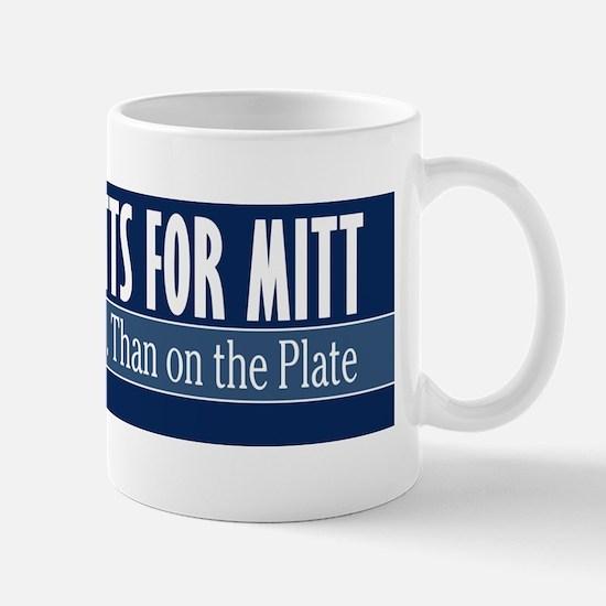 Mutts for Mitt Blue Mug