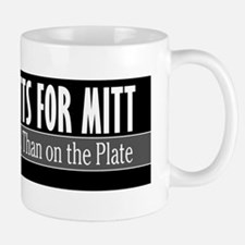 Mutts for Mitt Black Mug