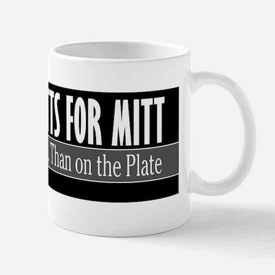 Mutts for Mitt Black Mug