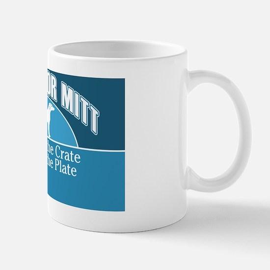 Mutts for Mitt Teal Mug