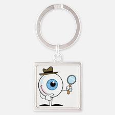 Eye_0280 Square Keychain