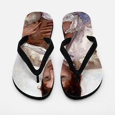 Mary Cassatt Flip Flops