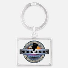 PROUD TO BE UNION Landscape Keychain