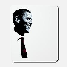 Vote for Barack Obama - Four more for 44 Mousepad