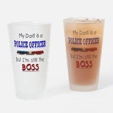 DadIsAPoliceOfficer Drinking Glass