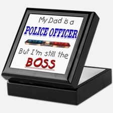 DadIsAPoliceOfficer Keepsake Box