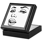 Marilyn Square Keepsake Boxes