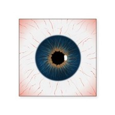 "eye_texture_2_flattened-JPE Square Sticker 3"" x 3"""