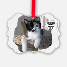 Innocent Calico Ornament