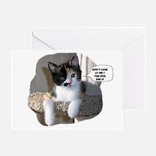 Innocent Calico Greeting Card