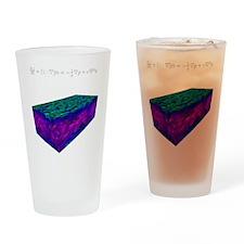 Flat Channel Drinking Glass