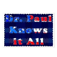 Dr. Paul Postcards (Package of 8)