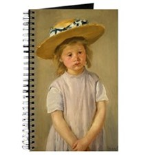 Mary Cassatt Child In Straw Hat Journal