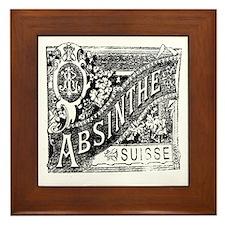 Absinthe Framed Tile