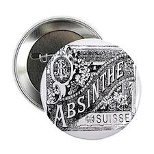 "Absinthe 2.25"" Button"